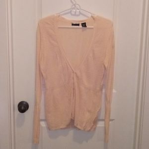 Moda International Feather Weight cardigan XL!
